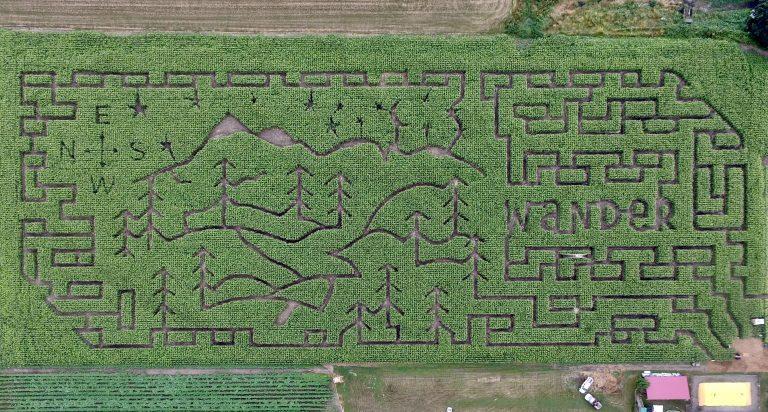 Chilliwack Corn Maze Design